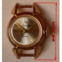 Zlaté dámské hodinky Čajka, 2. pol.20. stol
