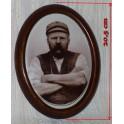 Kovář - foto na porcelánu, 2. pol. 19. století