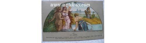 Umělecké pohlednice, přáníčka a ostatní